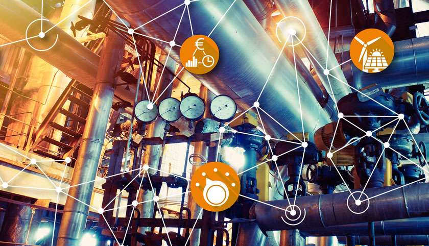 Vernetzung Energie Industrie