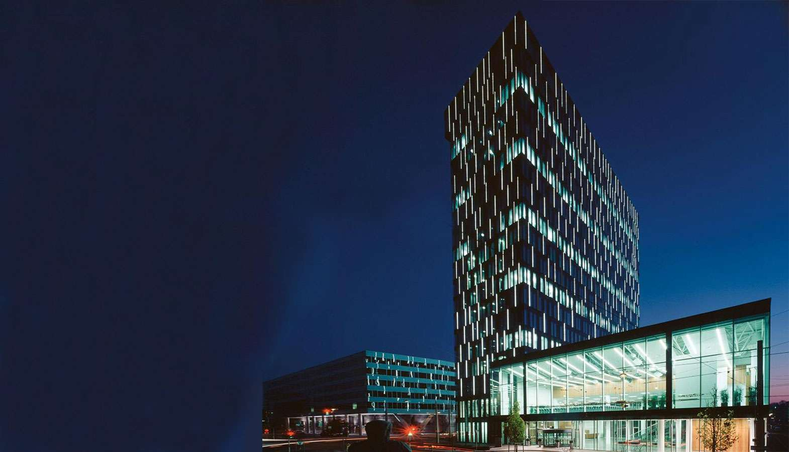 Gebäude der Energie AG Oberösterreich