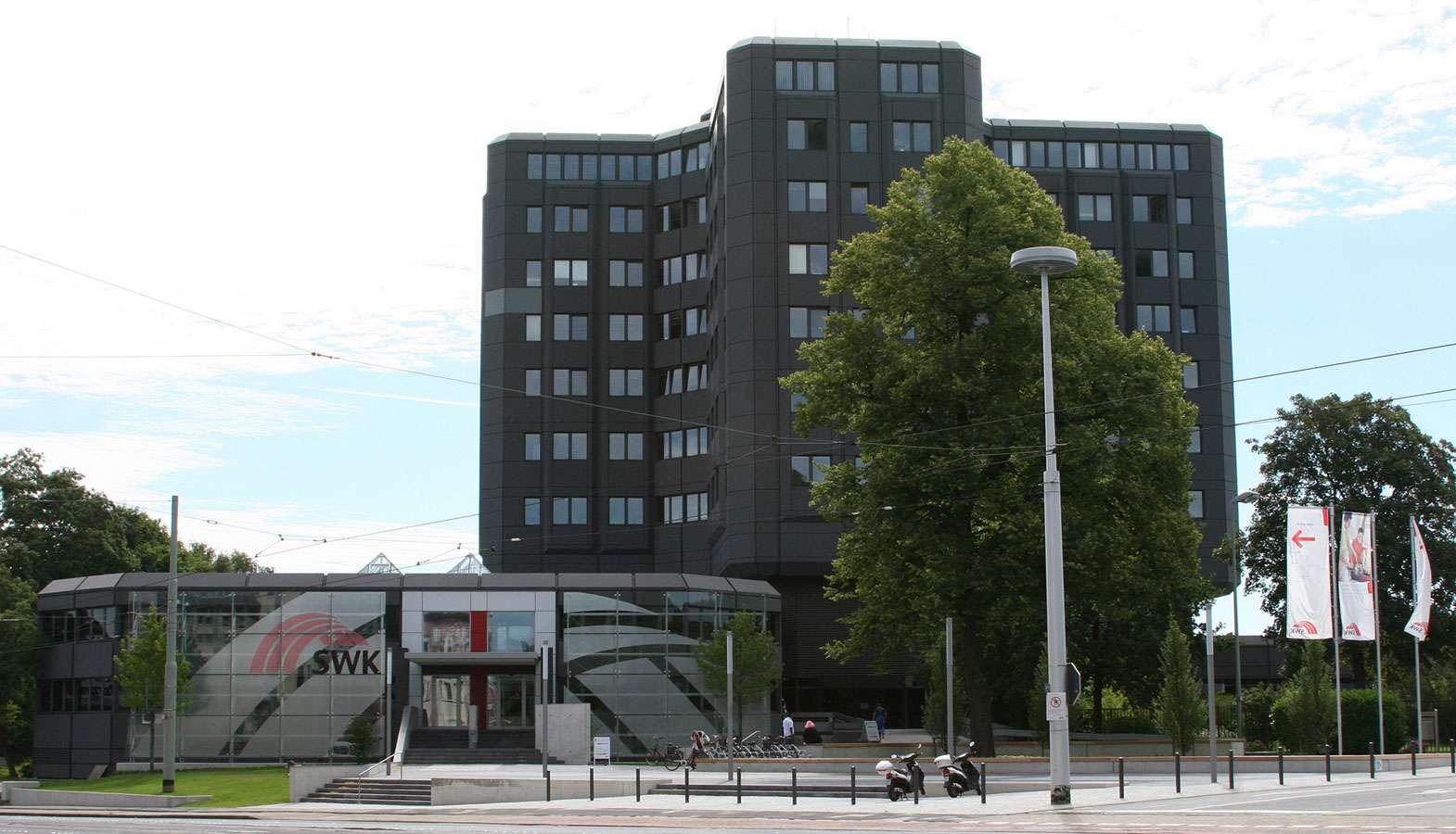 Gebäude SWK von außen
