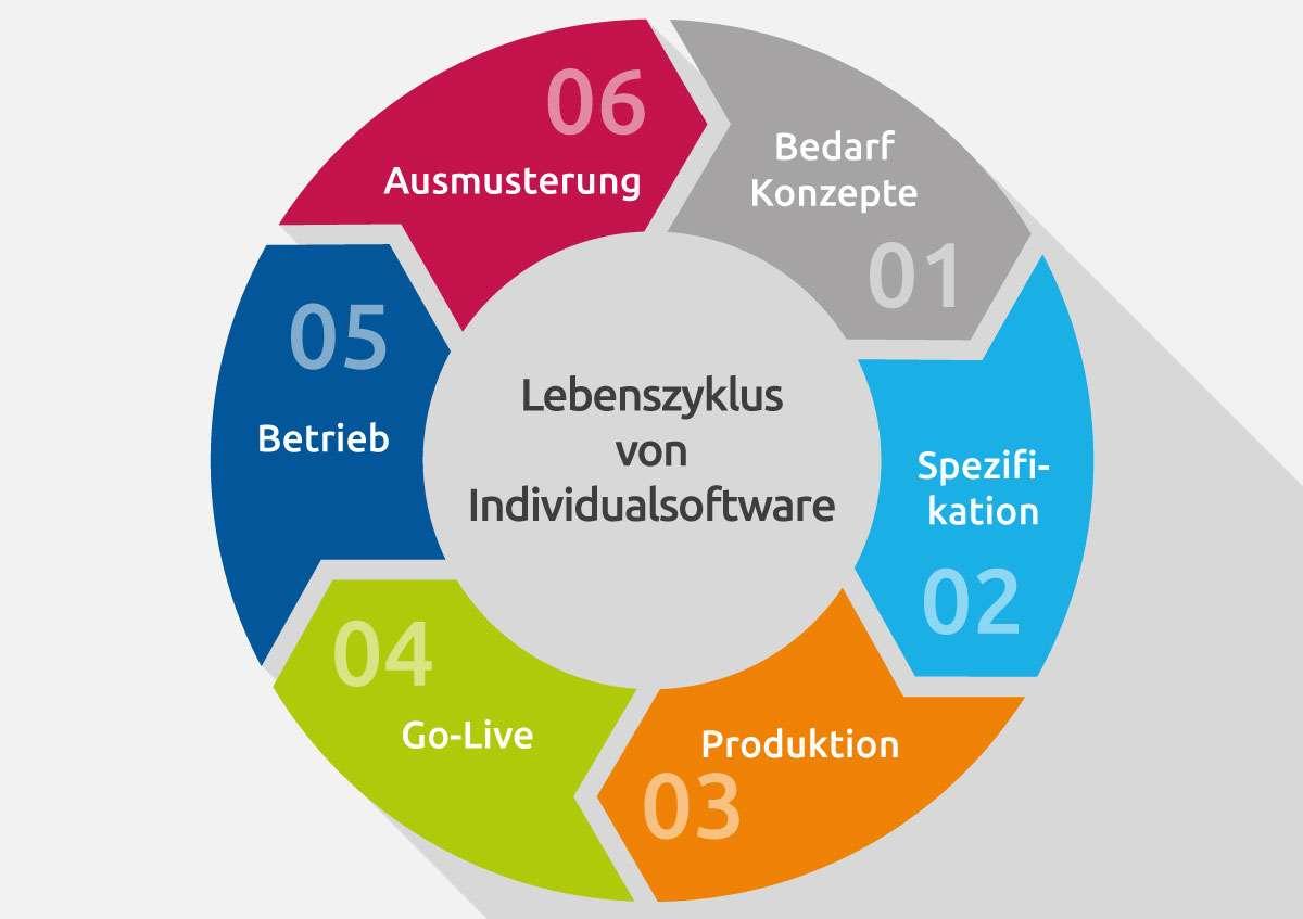 Der Lebenszyklus von Individualsoftware