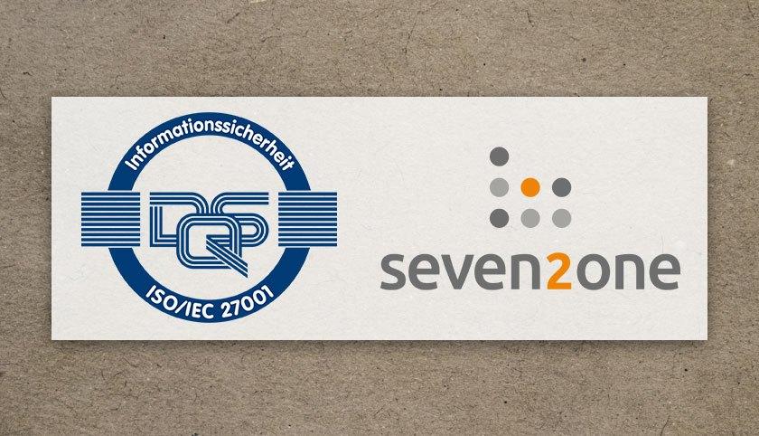ISO 27001 Zertifizierung Seven2one