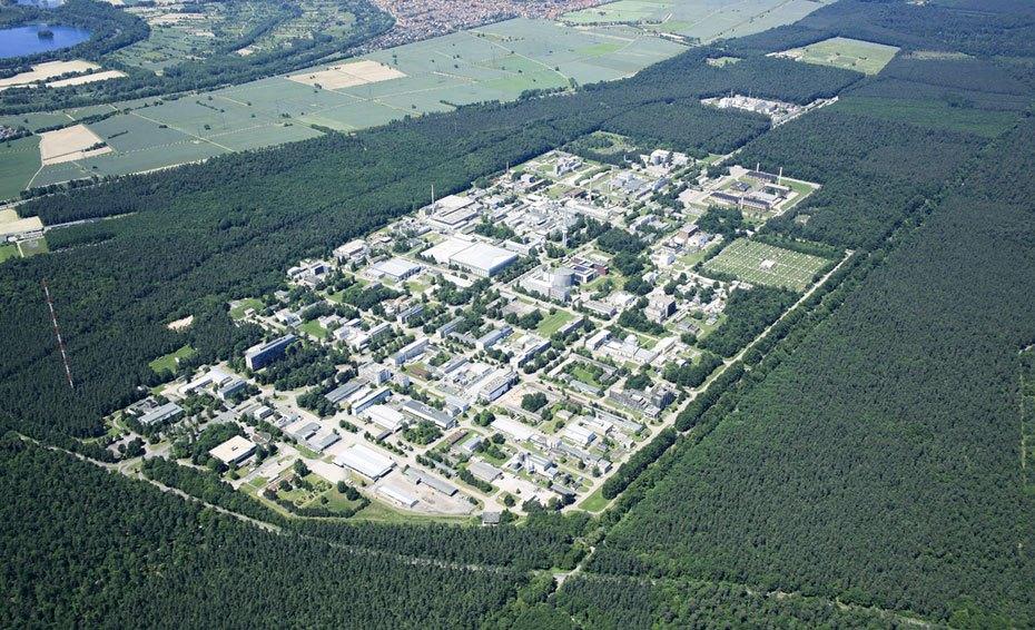 Luftaufnahme KIT Campus Nord