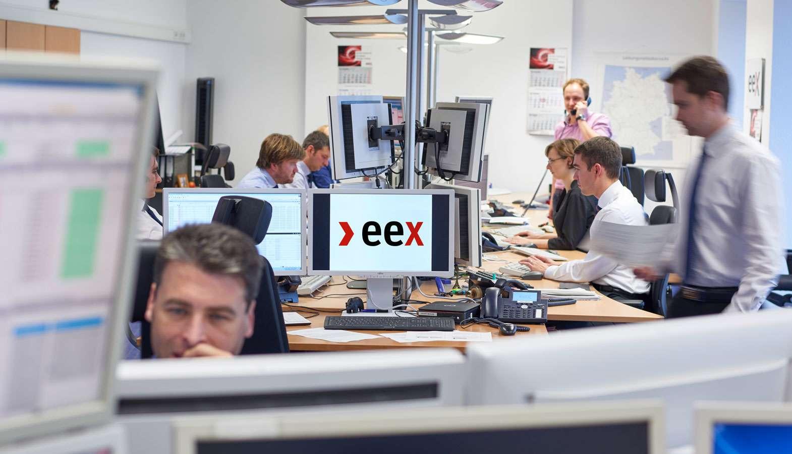 Trading Room der EEX AG
