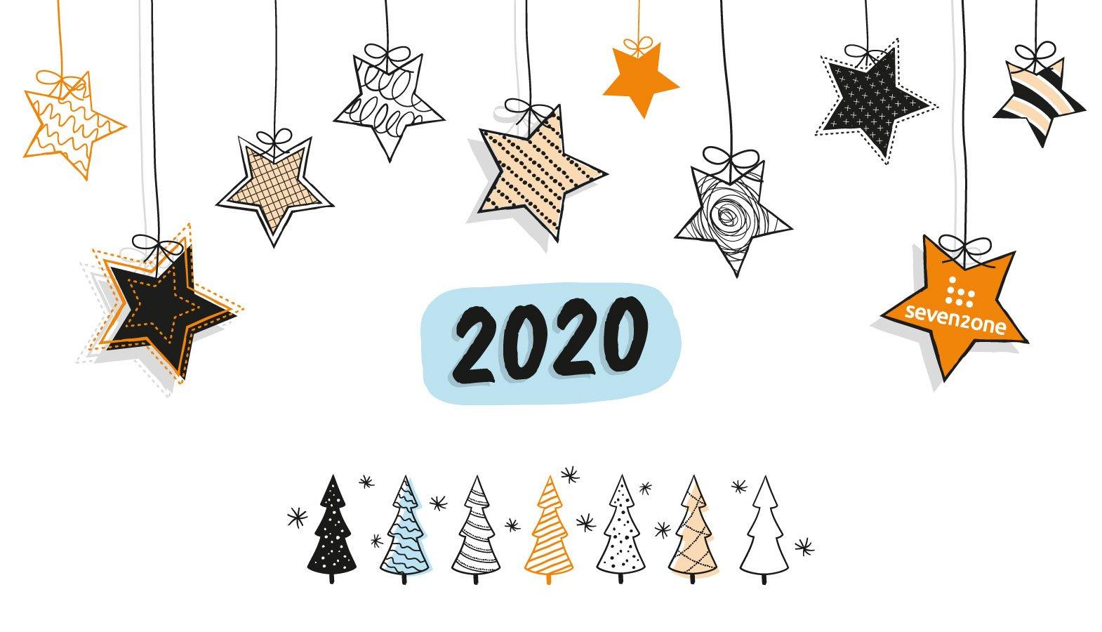 Rückblick 2020, Motiv der Seven2one Weihnachtskarte