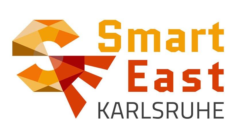 Logo des Smart East Karlsruhe Forschungsprojekts