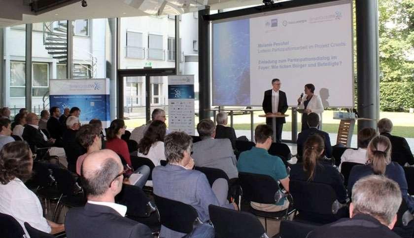 Christoph Schlenzig beim Smart Grid-Gespräch