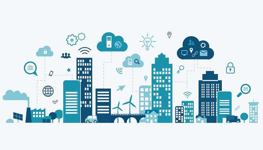 Infografik Smartes Quartier
