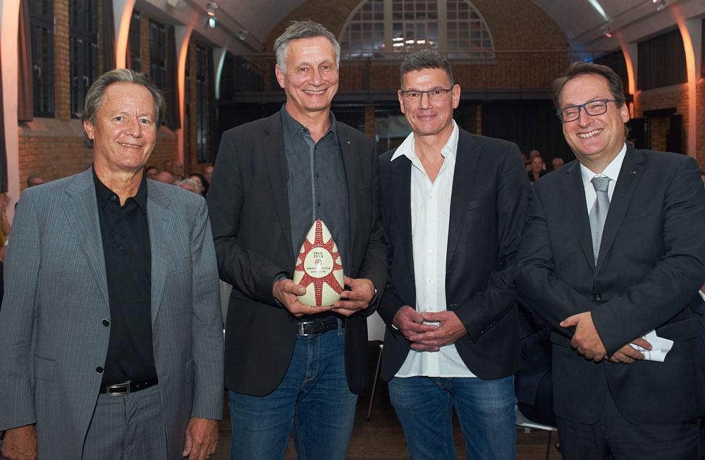 Preisverleihung des Wirtschaftsclub Karlsruhe